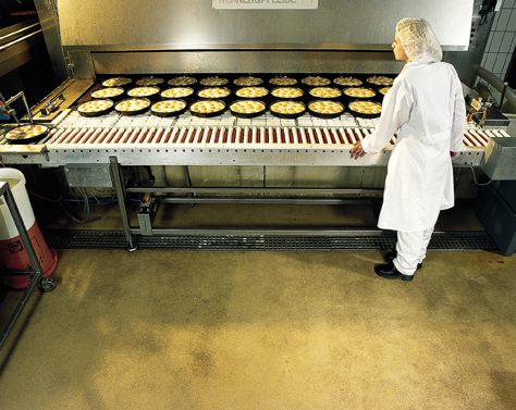 Commercial Bakery With Heat Resistant Flooring