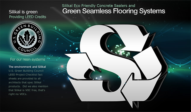 Green Flooring And Eco Friendly Concrete Sealer