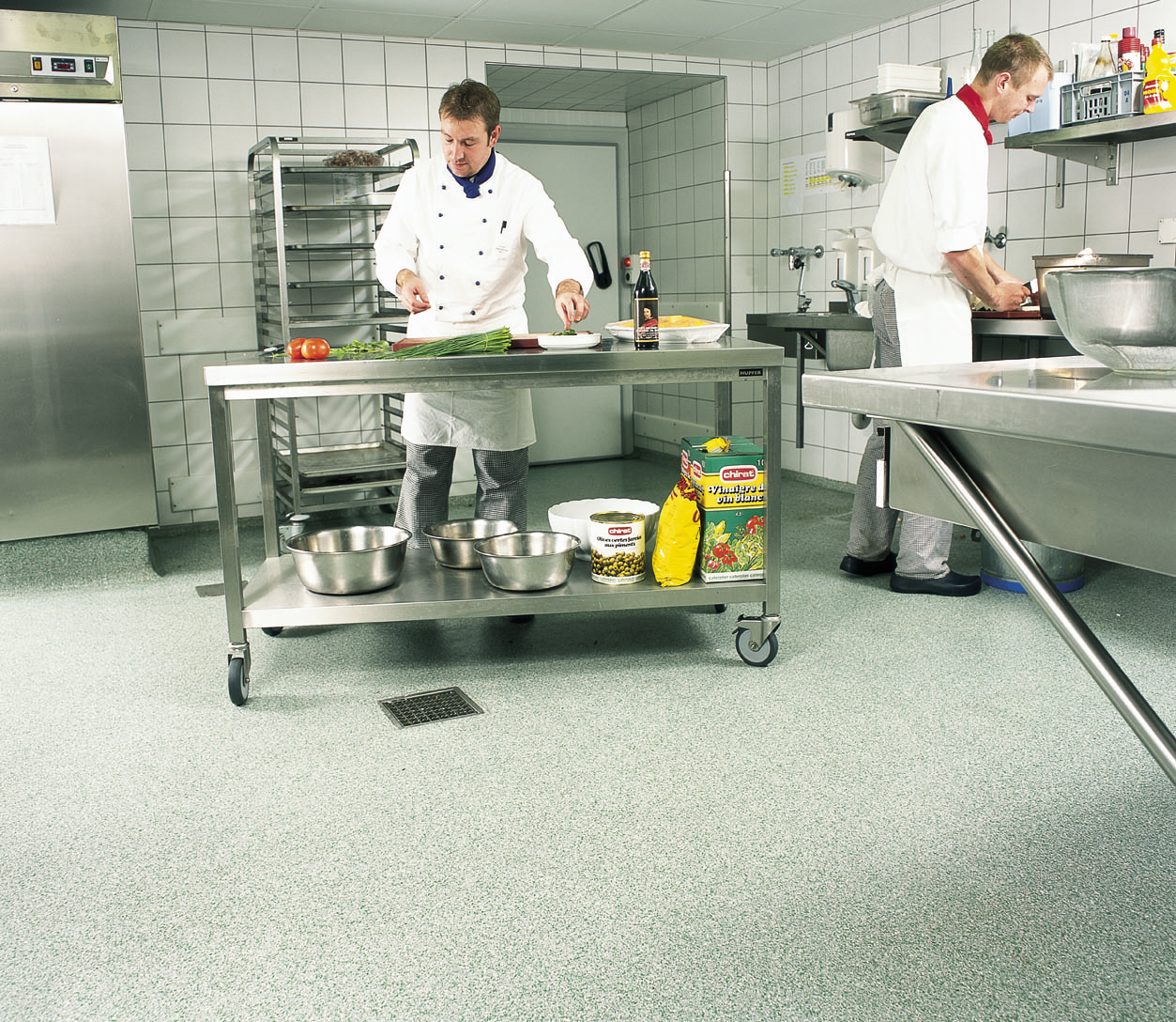 Types Of Kitchen Flooring For Commercial Floor Selection